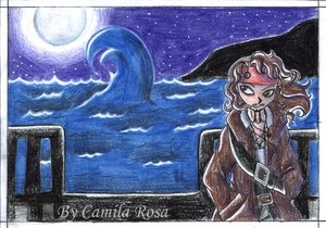 Jack at night by PotC