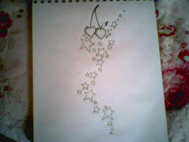 Cherry falling Star tattoo.... by MisSara on DeviantArt