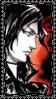 Portrait Stamp: Arikado by Gypsy-Rae