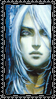 Portrait Stamp: Juste 2 by AndreAla-Rae