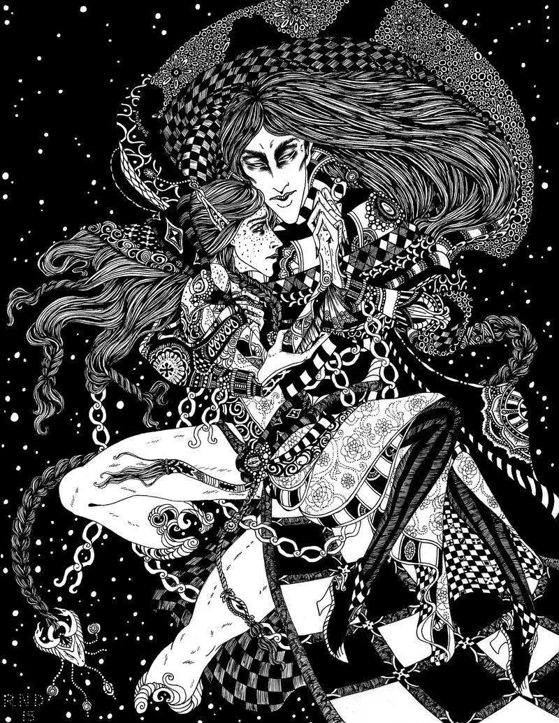 Solemn Love by Gypsy-Rae