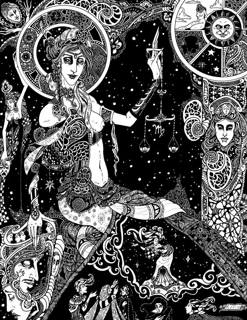 Celestial Virgin: Astraea/Virgo by Gypsy-Rae