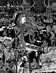 Artspired:  Lady of Shalott by Gypsy-Rae