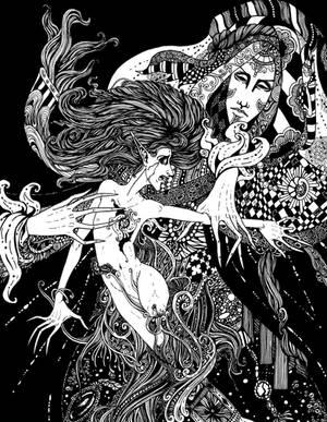 DS 12: Cry in Sorrow by Gypsy-Rae