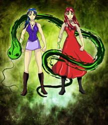 Saeth, The Snake Sisters.