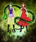 Saeth, The Snake Sisters. by Magic-Onigiri