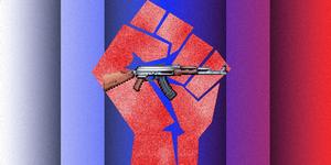 AK-47 pixel art