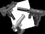 Counter-Strike Guns pixel art
