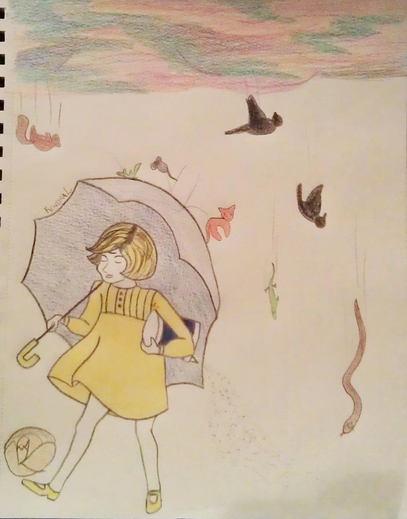 Welcome To Night Vale, Morton Salt Girl by batstark