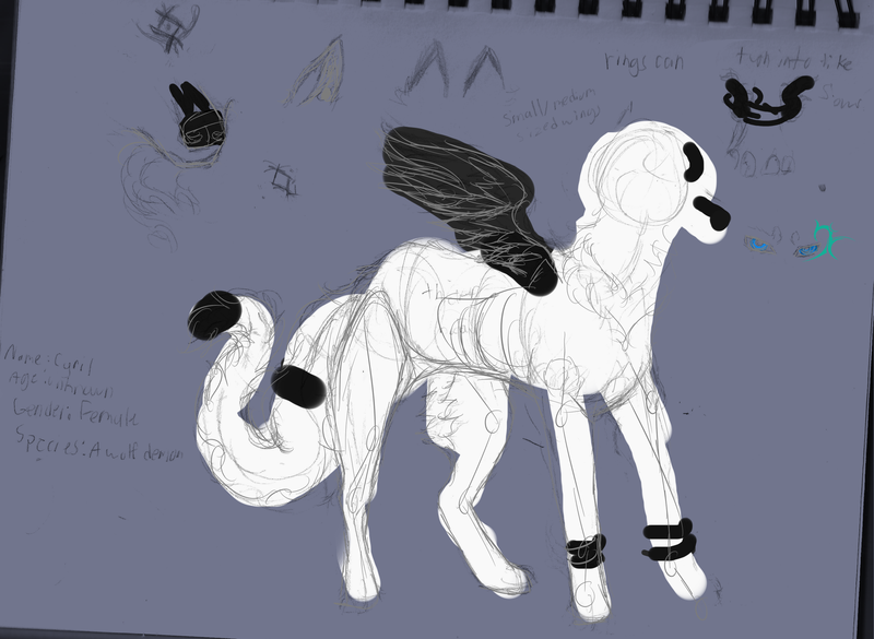 Ref sketch by Cyrilwolfgirl