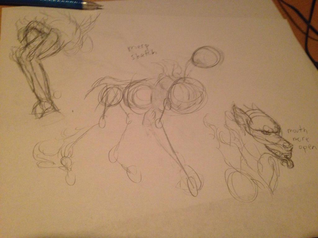 Sketch thing 1 by Cyrilwolfgirl