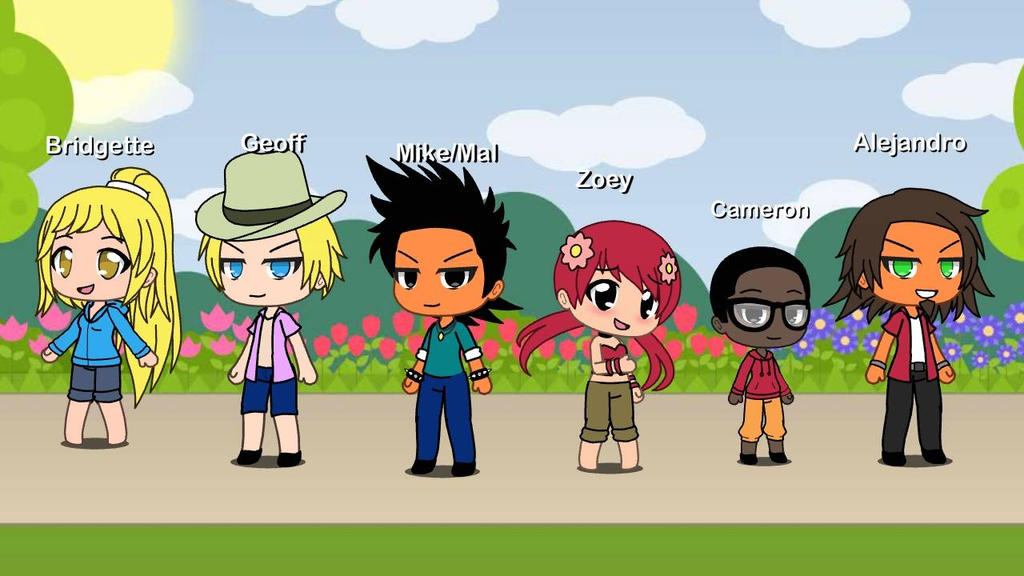 Total Drama In Gacha Life Form by EdwinTD on DeviantArt