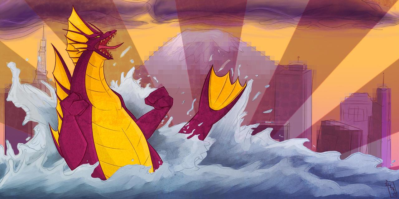 Titanosaurus by Nuclear-Shrimp
