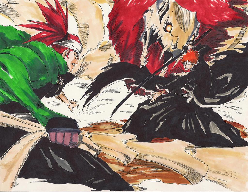 Renji VS Ichigo by HikaruMuto