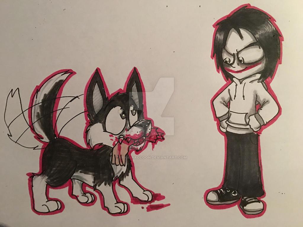 Good dog by Mika-Raccoon