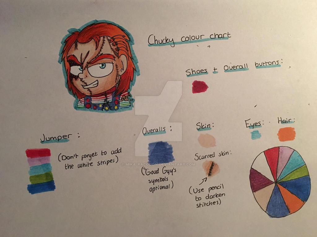 Chucky colour chart by Mika-Raccoon