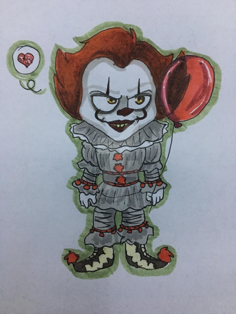 Chibi Pennywise (2) by Mika-Raccoon