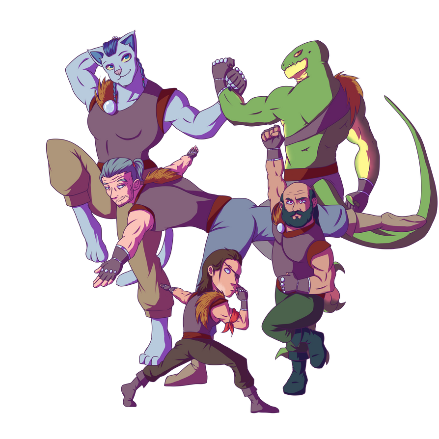 Captain Salvador's Anti-Magic Squad by TaylorBoykin