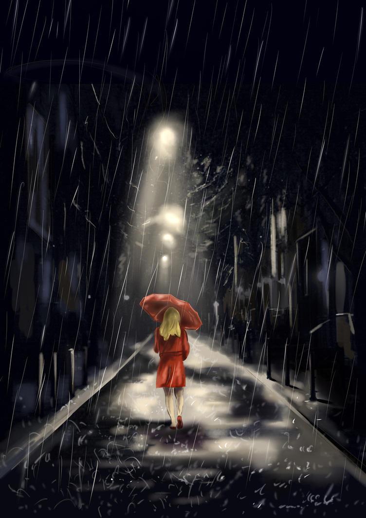 Rain by RenatoZivkovic