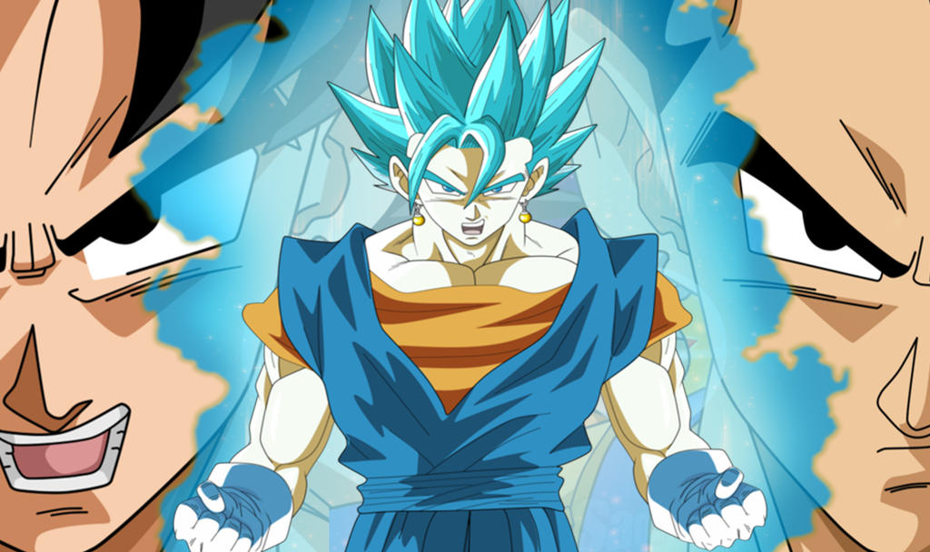 Goku and Vegeta Fusion by RifhaArt on DeviantArt