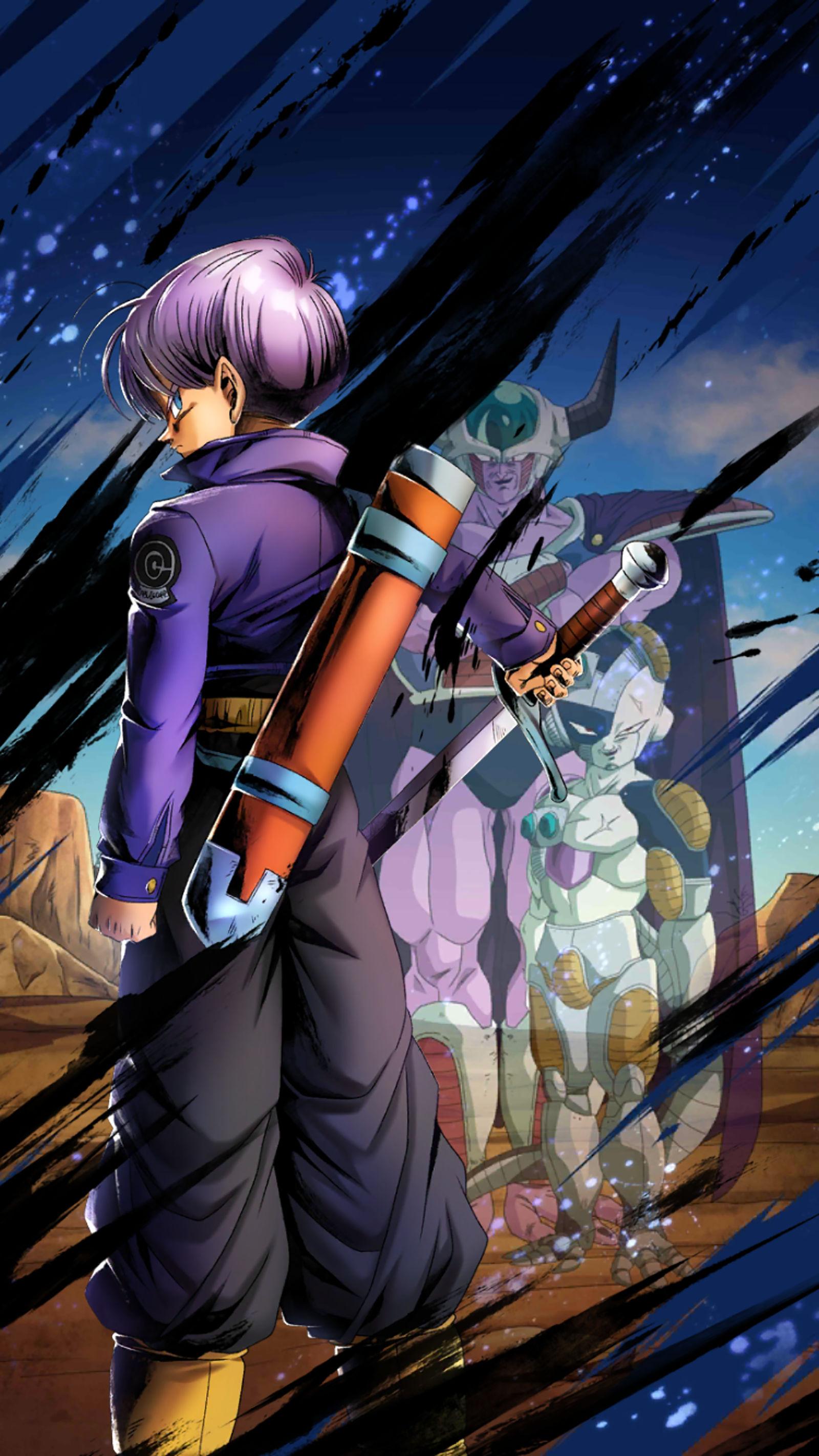 Trunks Dragon Ball Legends Wallpaper By Rifhaart On Deviantart