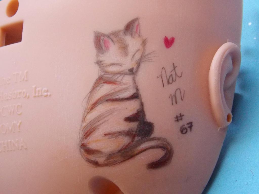 Cat by nmeneghel