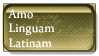 Stamp - Amo Linguam Latinam by PaniFilth