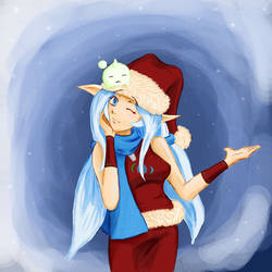 Anime News Nina festive ver