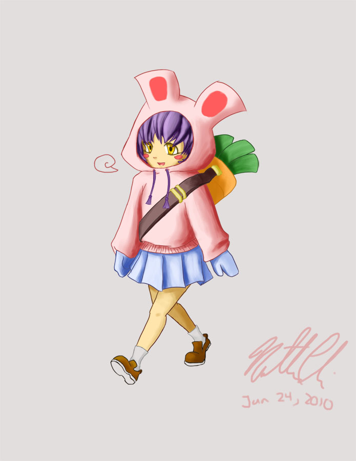 Bunny Hoodie by Limited-Access