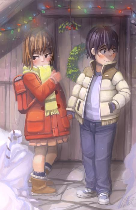 Boku Dake Ga Inai Machi: Kayo and Satoru by Limited-Access