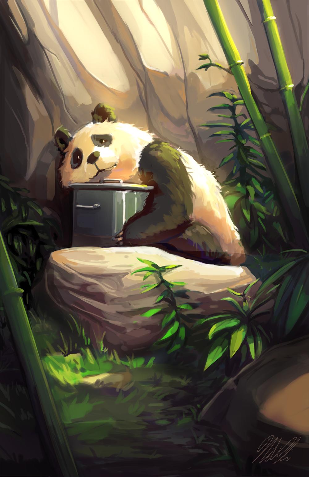 Sad Panda by Limited-Access