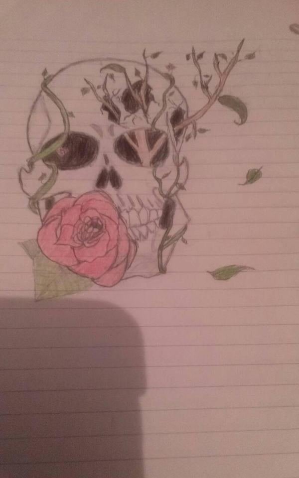 My sis's drawings #1 by HEARTSONGDROWNED