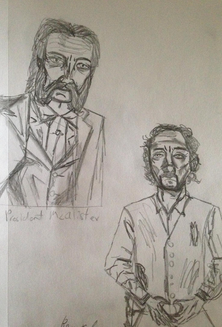 Patrick McAlister and Bernard Griffin by Delta-13