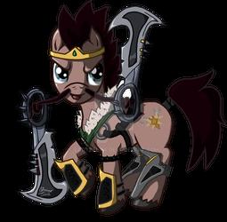 Draven : The Glorious Executioner Stallion