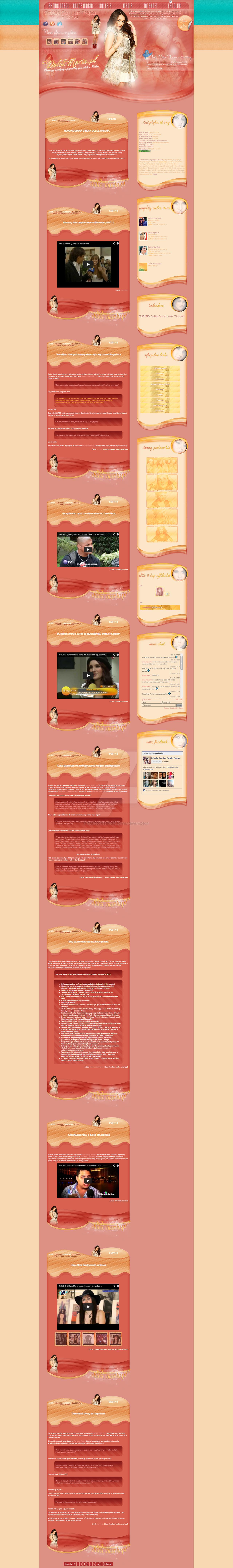 Dulce Maria Wordpress Themes
