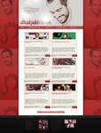 Wordpress Theme with Alfonso Herrera