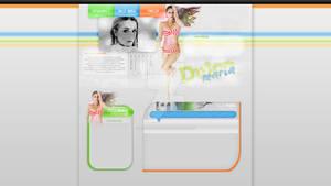 PREMADE Dulce Maria Wordpress theme