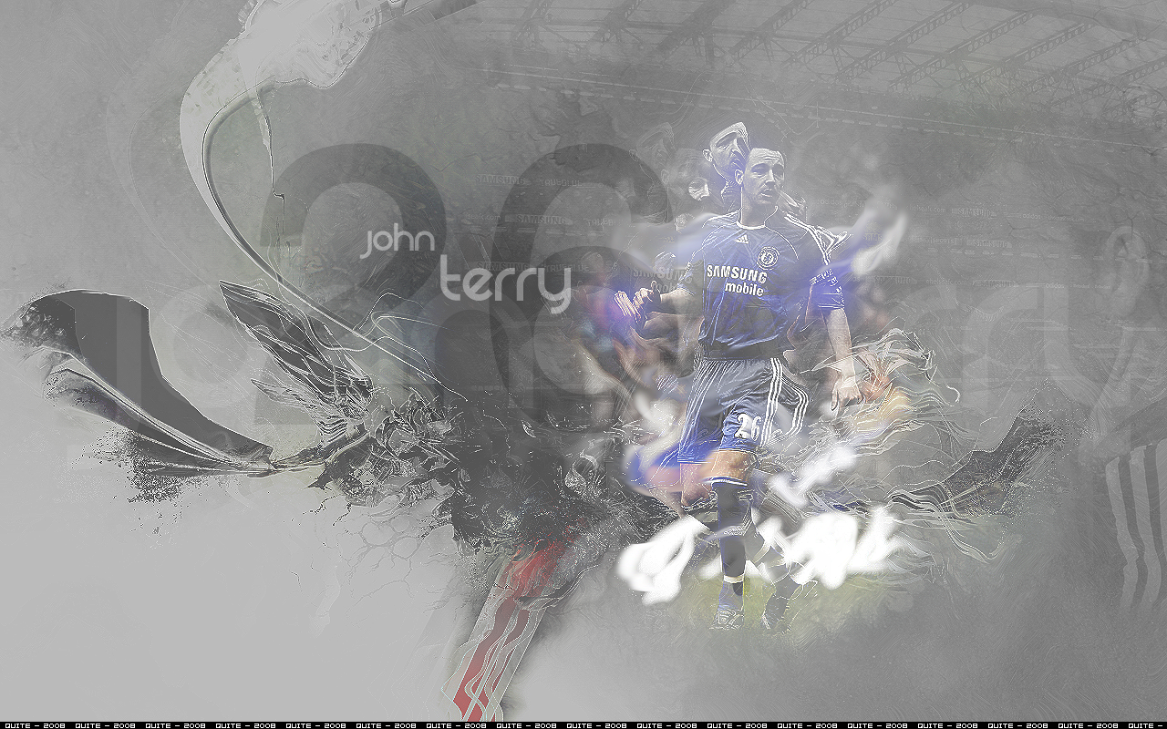 John Terry Grey abstract wallpaper 1280x800
