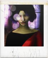 The Path: Carmen -polaroid by JohnyZuper