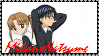 MikanxNatsume Stamp by SugerBubbles