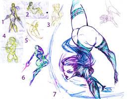 Best of Psylocke Sketchadays by jets
