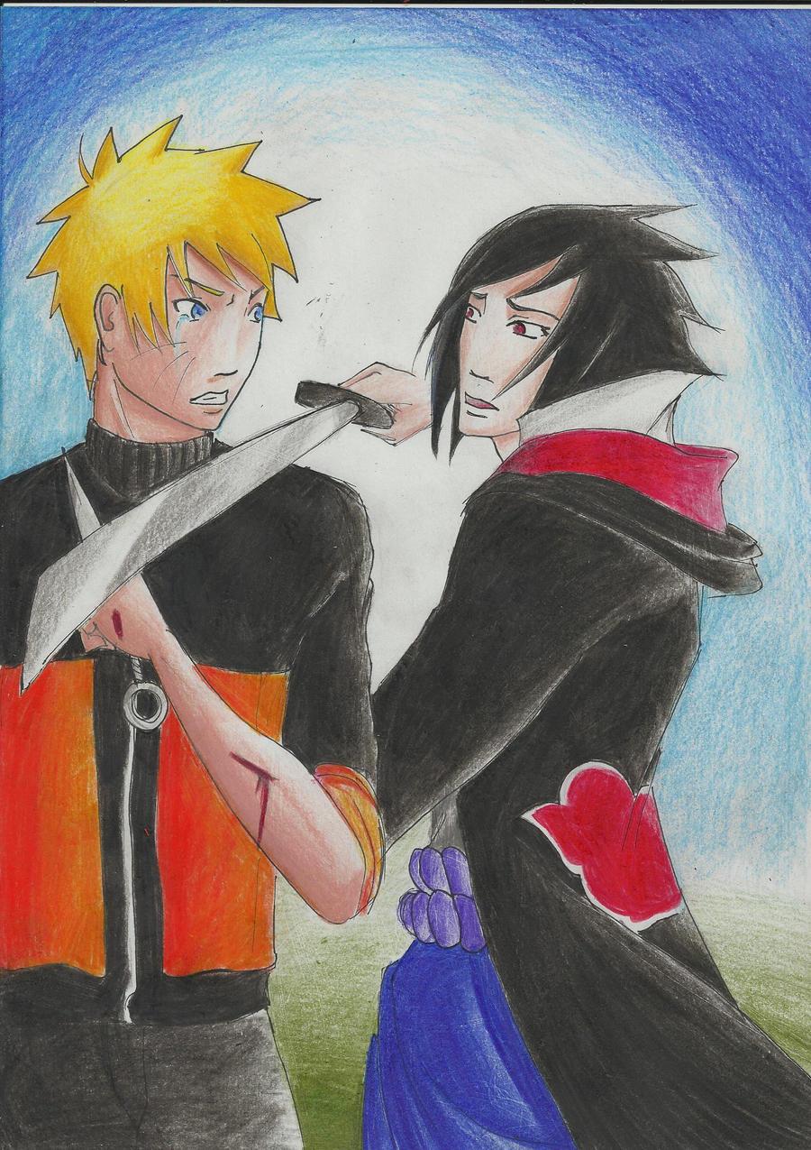 Nagy ninja háború, Naruto, és Sasuke
