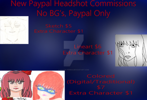 Cheap Paypal Commissions OPEN!