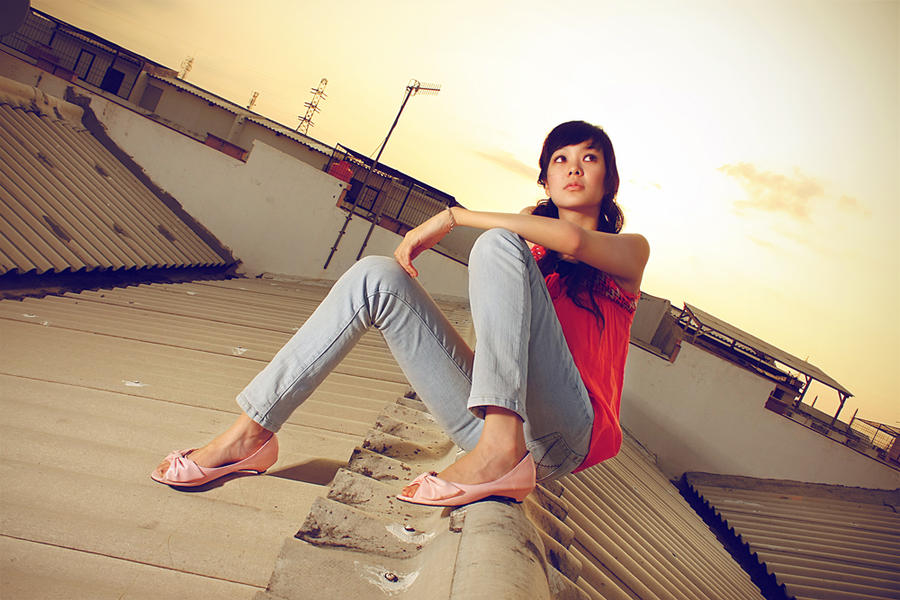 on the roof II by gondex
