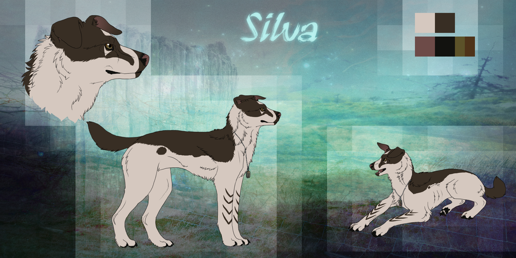Silvadog Ref by Silvadruid