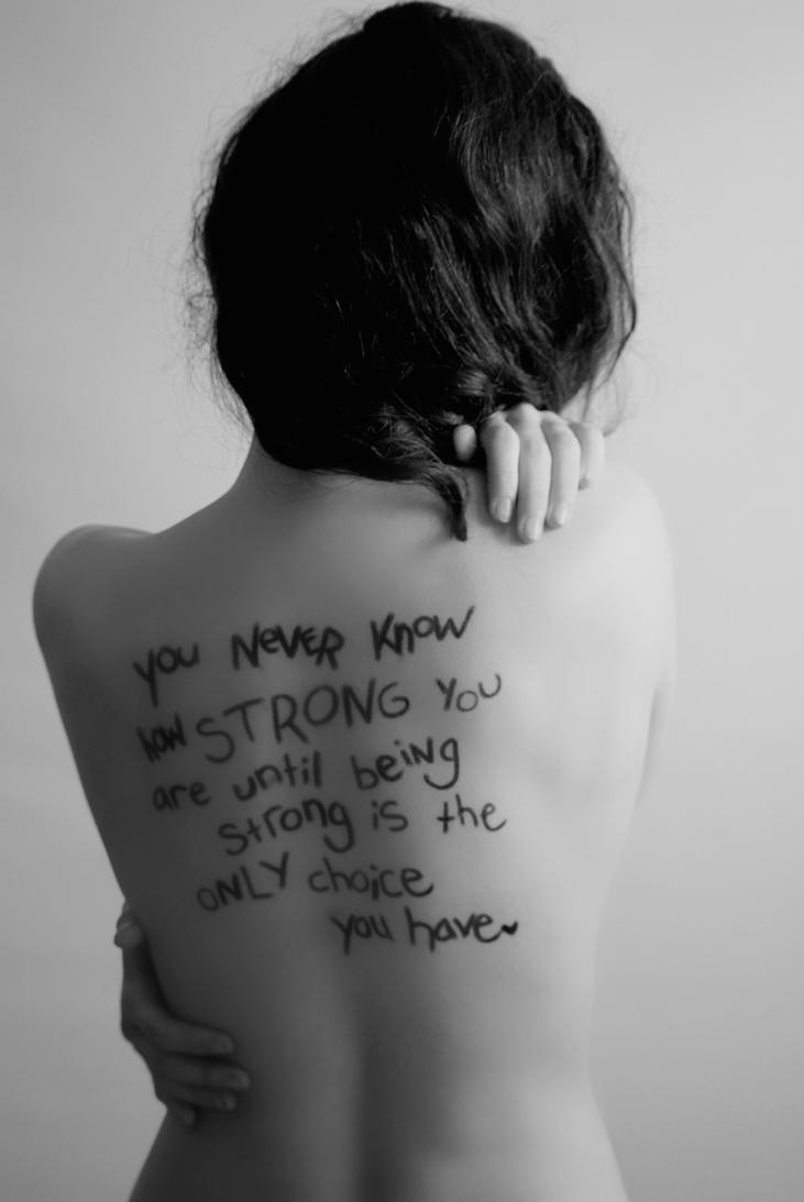 Strength is deeper than skin
