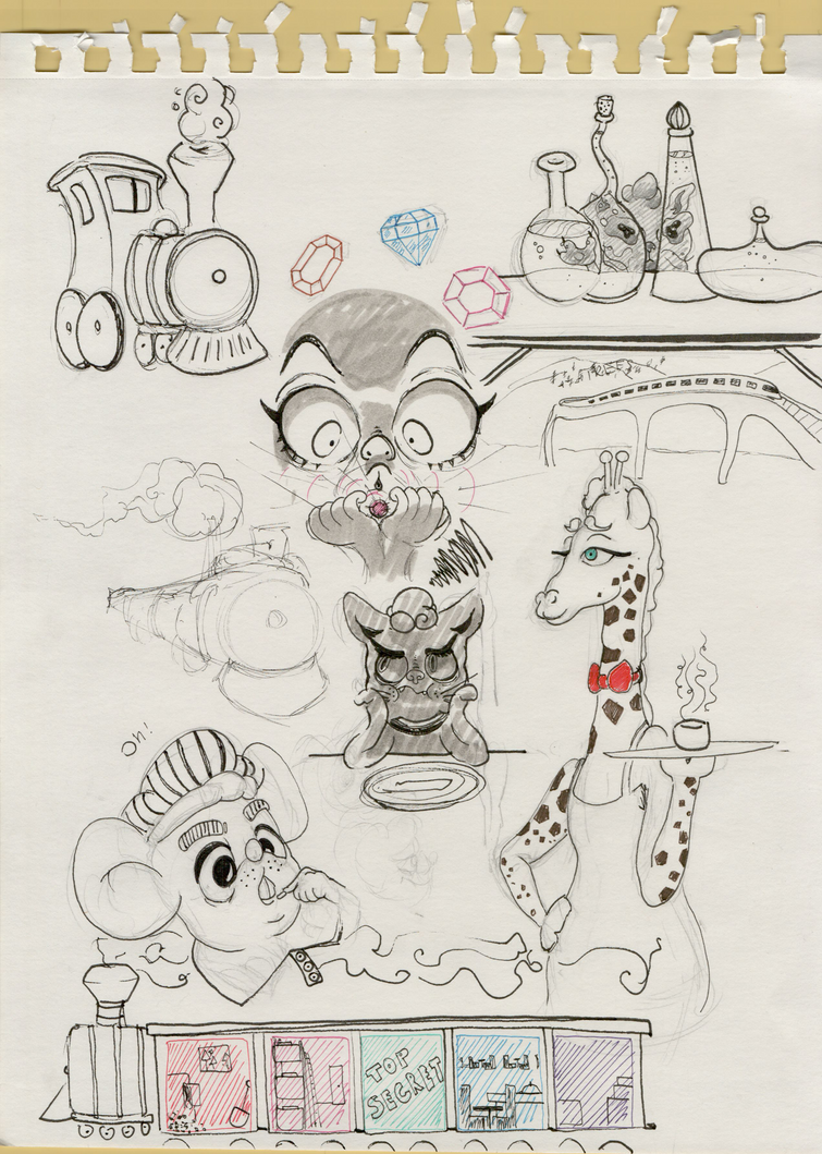 Sketchdump.1 by margob707