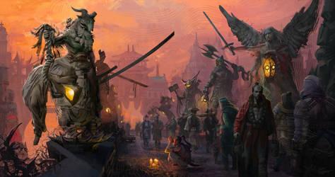 Pilgrimage of Remoir by tidgepot