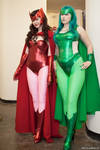 Polaris And Scarlet Witch