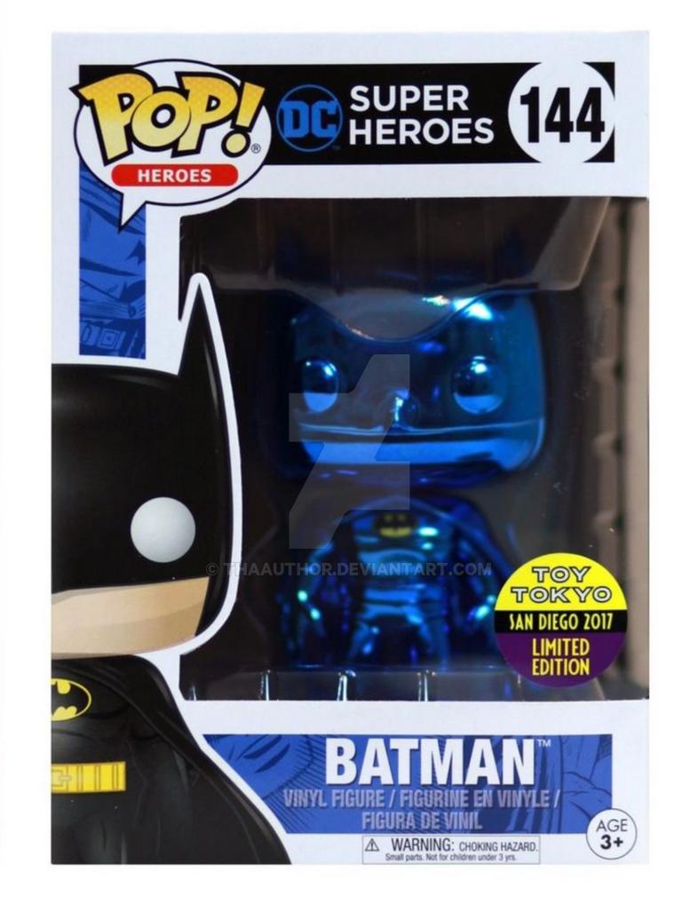 Blue Batman by ThaAuthor
